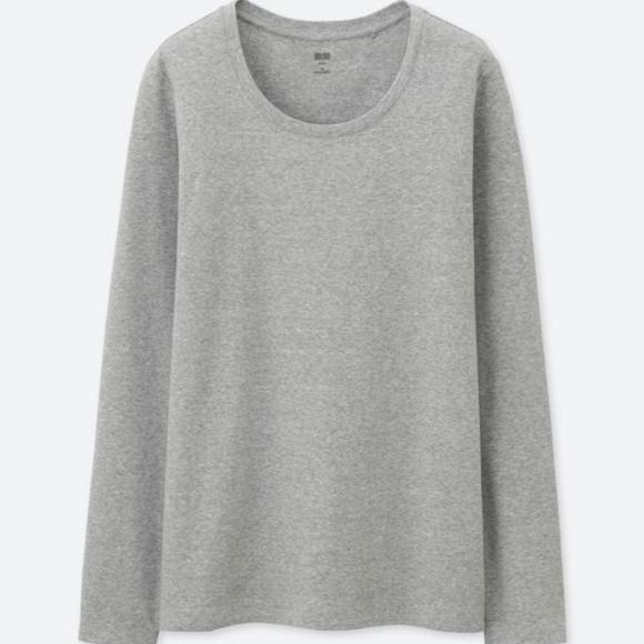 d34f1468 Uniqlo Tops | Nwt Supima Cotton Long Sleeve Tee Shirt S | Poshmark